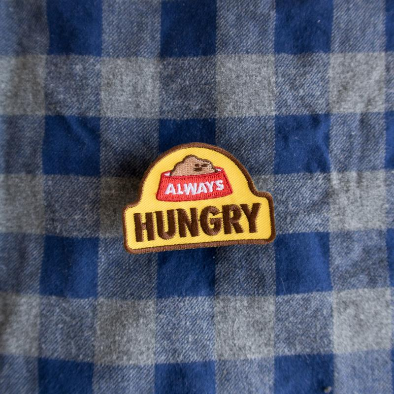Scout's Honour Always Hungry Merit Badge - CreatureLand