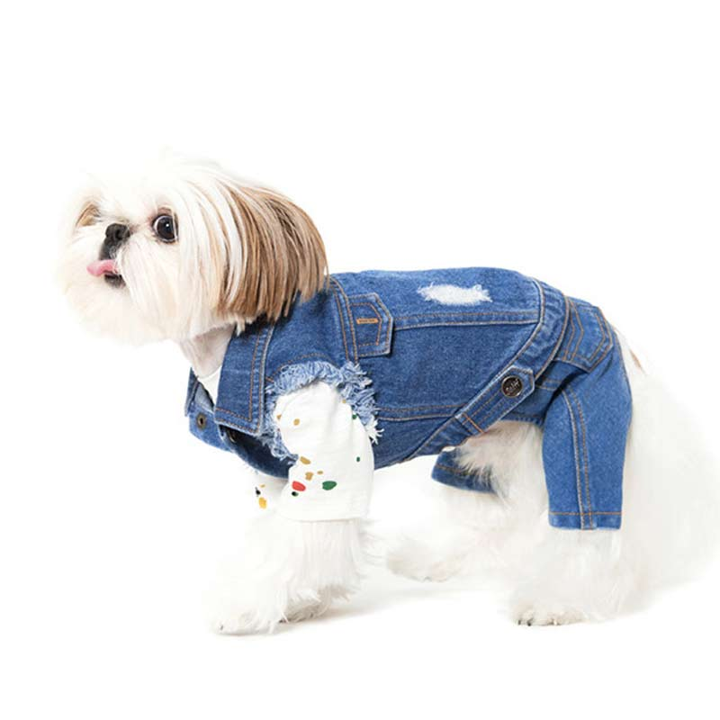 Sniff's Friends Denim Vest - CreatureLand