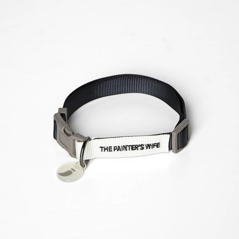 The Painter's Wife Sonia Collar - Navy & White - CreatureLand