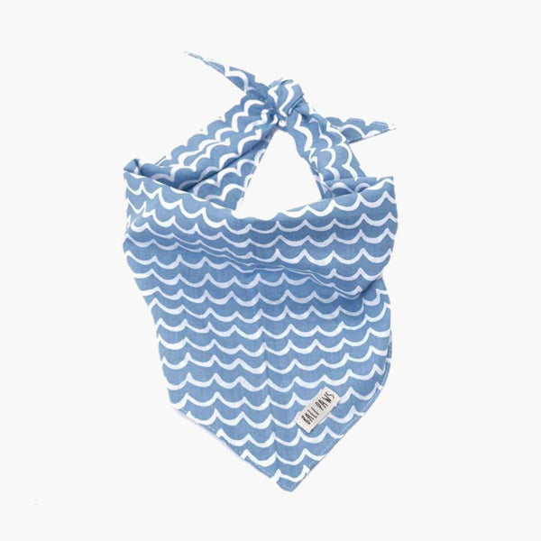 The Paws Perfect Wave Bandana - CreatureLand