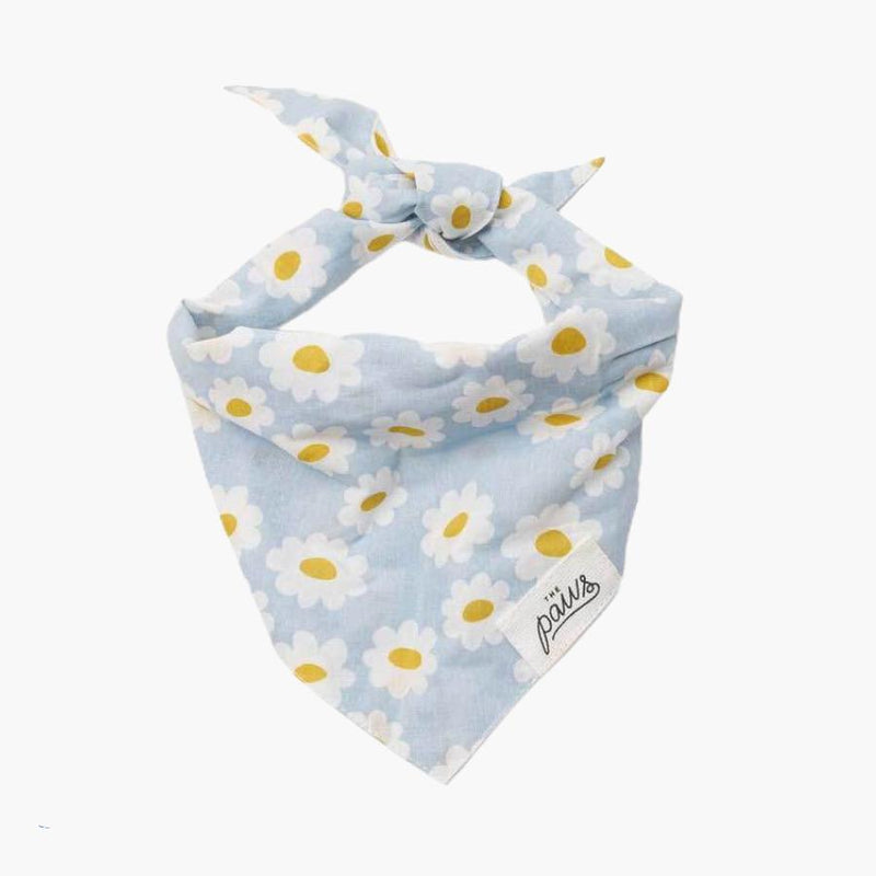 The Paws Spring Flower Bandana - CreatureLand