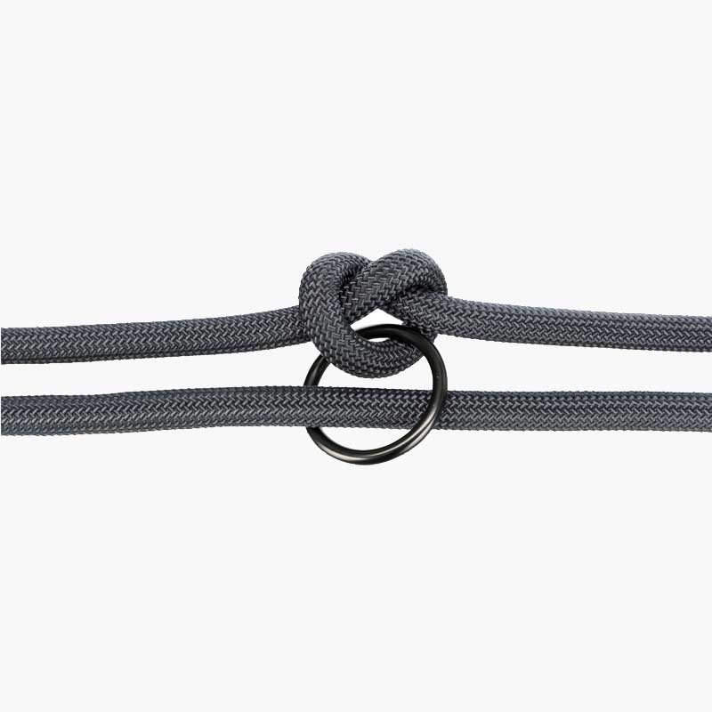 TRIXIE BE NORDIC 3-Way Adjustable Leash - Dark Grey - CreatureLand