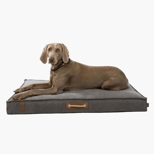TRIXIE BE NORDIC Mattress Föhr Pet Bed - Dark Grey - CreatureLand
