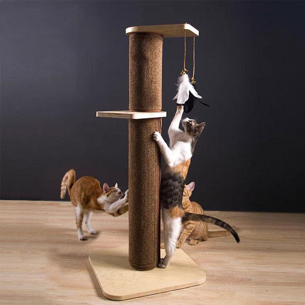 Wakupet Double-Tier Feather Cat Tree - CreatureLand