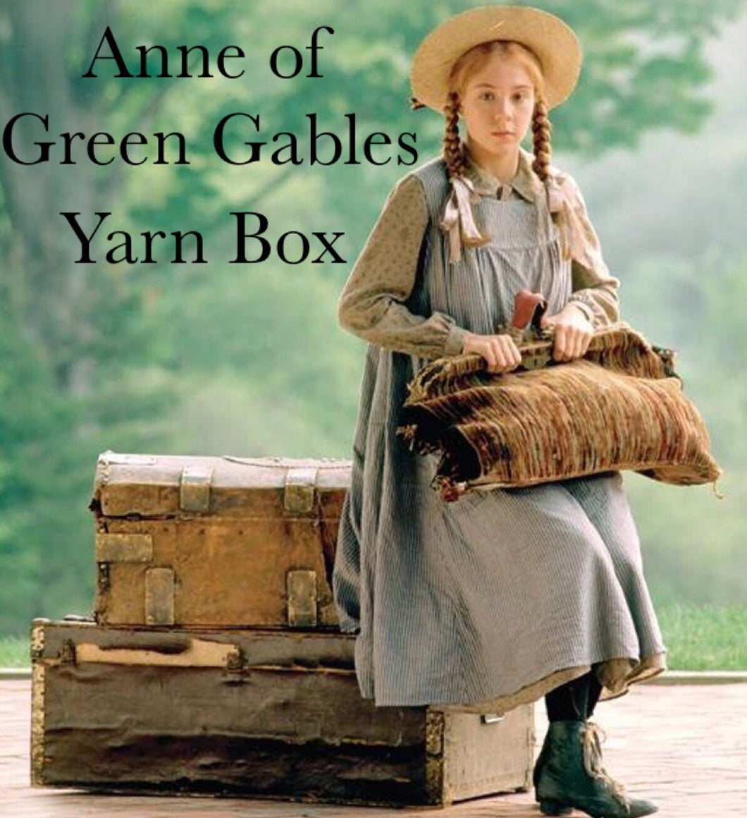 Anne of Green Gables Yarn Box