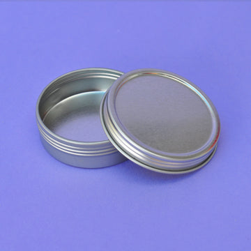 2oz Metal Screw Top Tin
