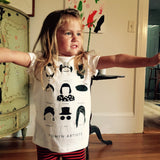 Women Artists Kid's T-shirts