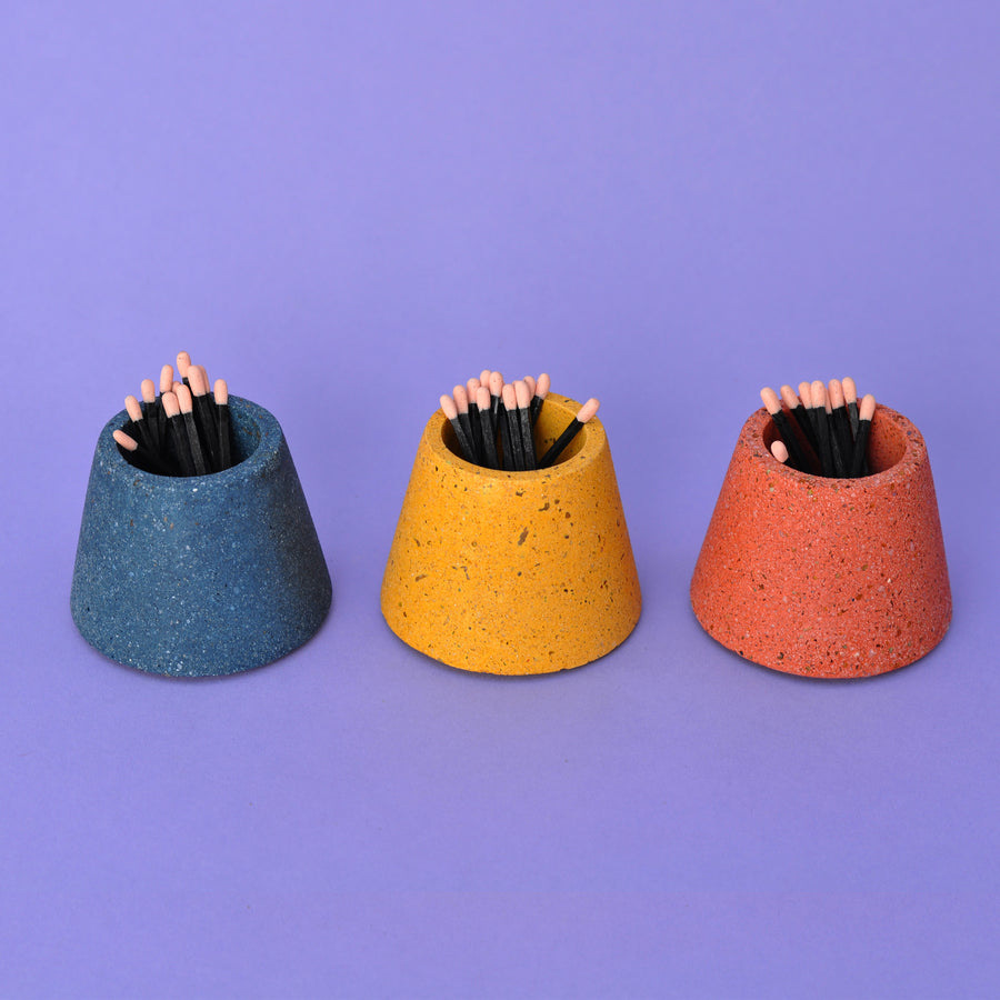Concrete Matchstick Holders