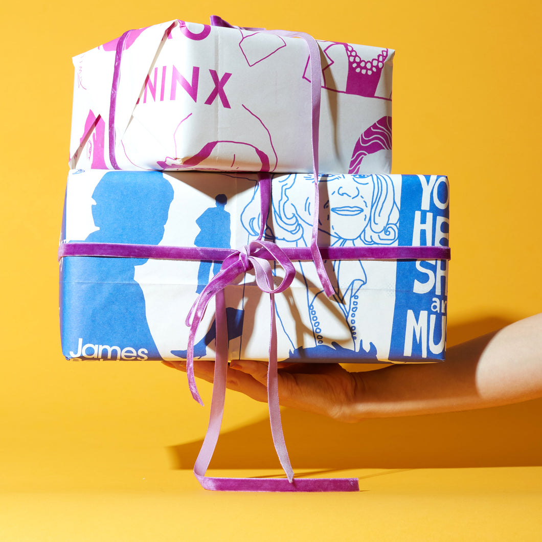 Otherwild Newsprint Posters/Gift-Wrap Service