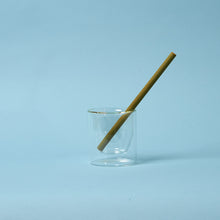 Load image into Gallery viewer, reusable bamboo drinking straw