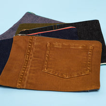 Load image into Gallery viewer, Upcycled Denim Pouches