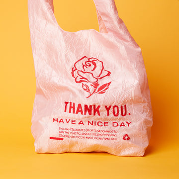 Thank You Pink Rose Tote