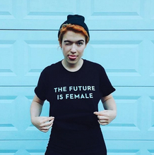 Load image into Gallery viewer, T-shirt: The Future is Female