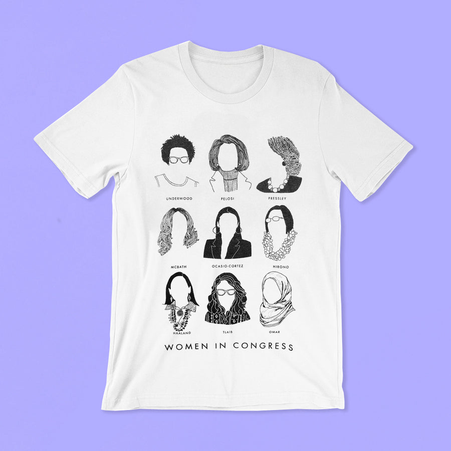 Women In Congress Kids T-Shirts