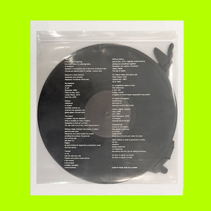 Leave No Trace (vinyl + poem)