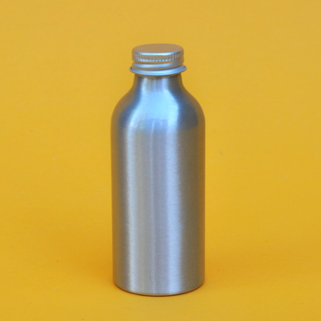 Small Aluminum Bottle w/Cap (2.7oz)