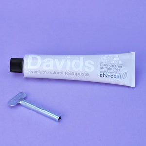 David's Natural Peppermint + Charcoal Toothpaste