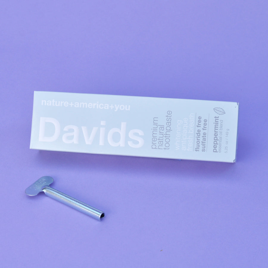 David's Natural Peppermint Toothpaste