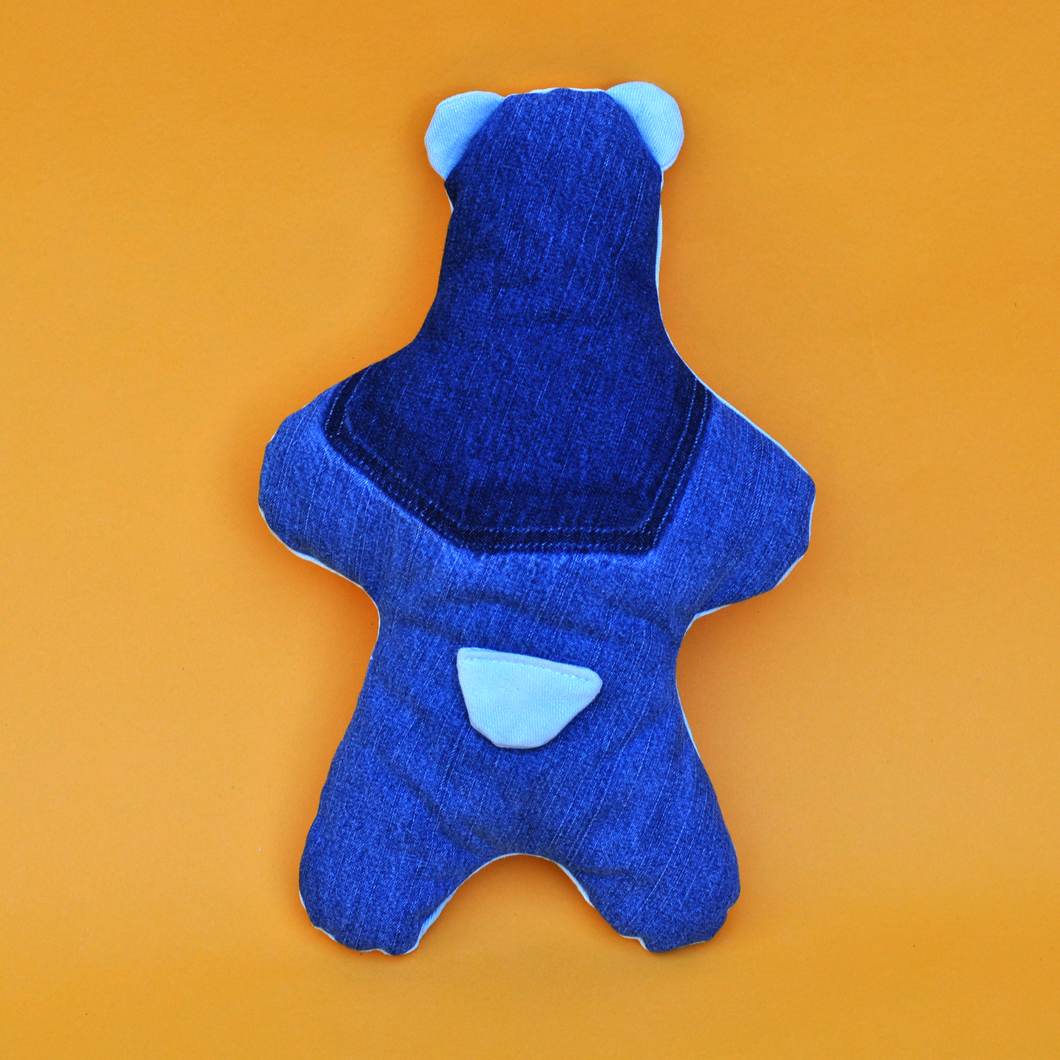 Denim Teddy Bear