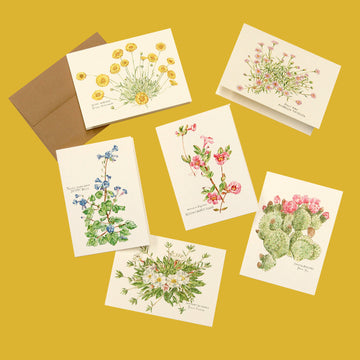Desert in Bloom - Card Set of 6