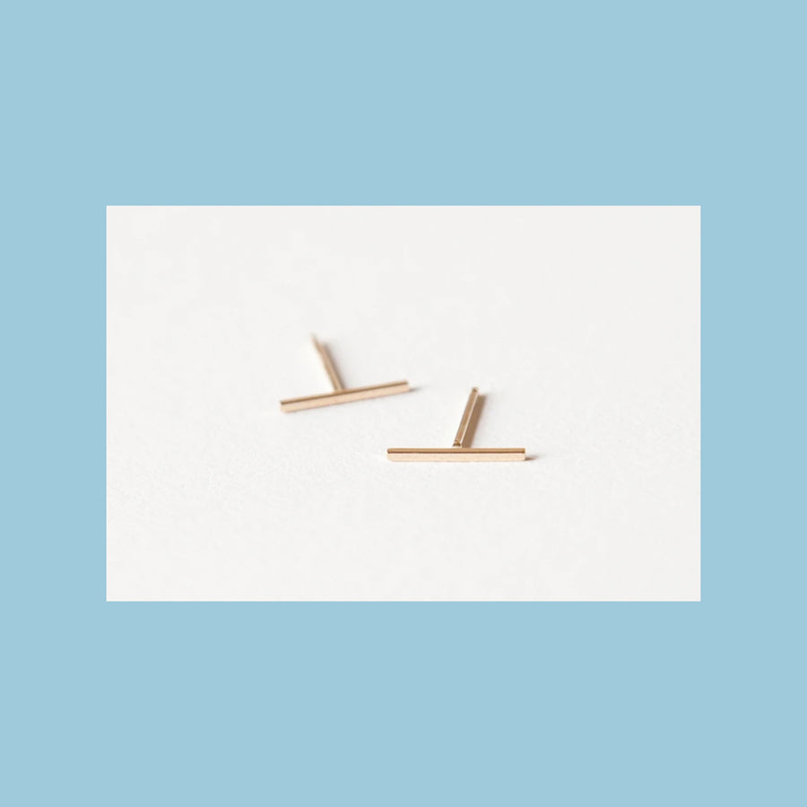 Earthen Earring Single Studs