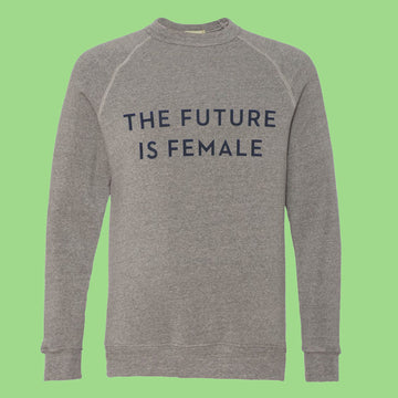Sweatshirt: The Future is Female - Ltd. Edition Grey