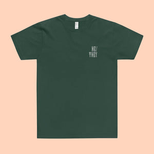 He/They Pronouns Embroidered T-Shirt