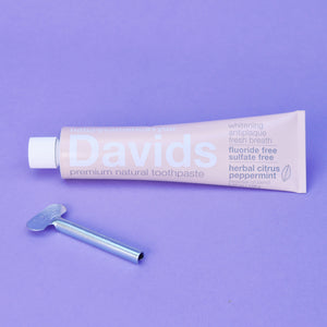 David's Natural Herbal Citrus Peppermint Toothpaste