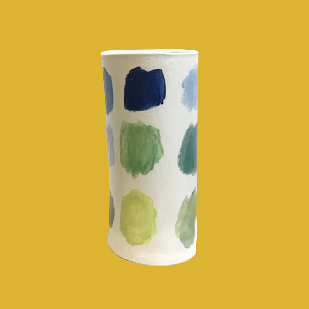 Painted Ceramic Vases