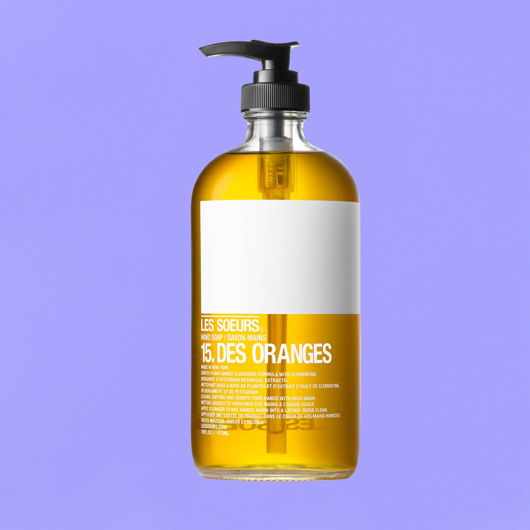 HAND SOAP : DES ORANGES