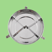 Load image into Gallery viewer, Round Stainless Steel Airtight Take-Out Container with Dividers