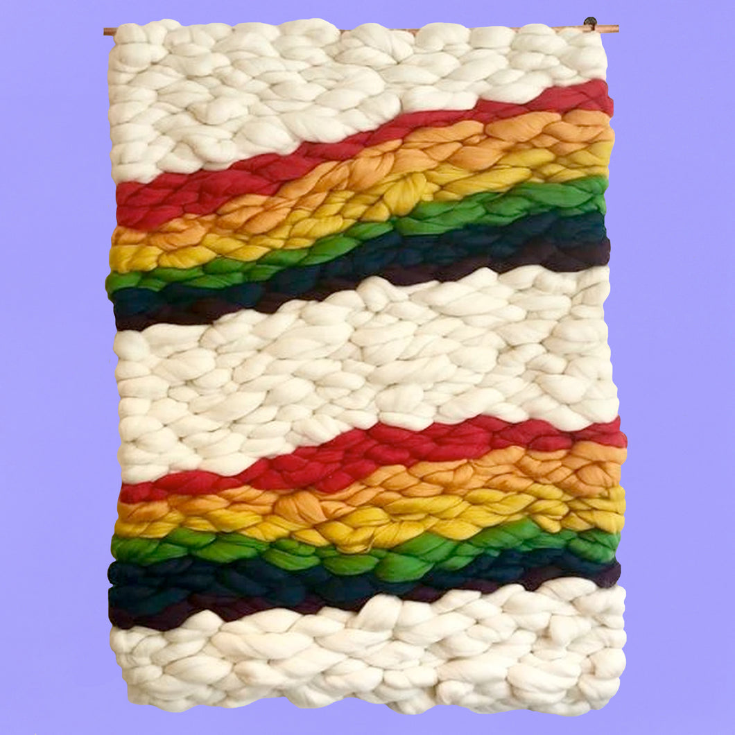 Double Rainbow Weaving