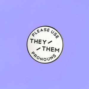 Pronoun Pins