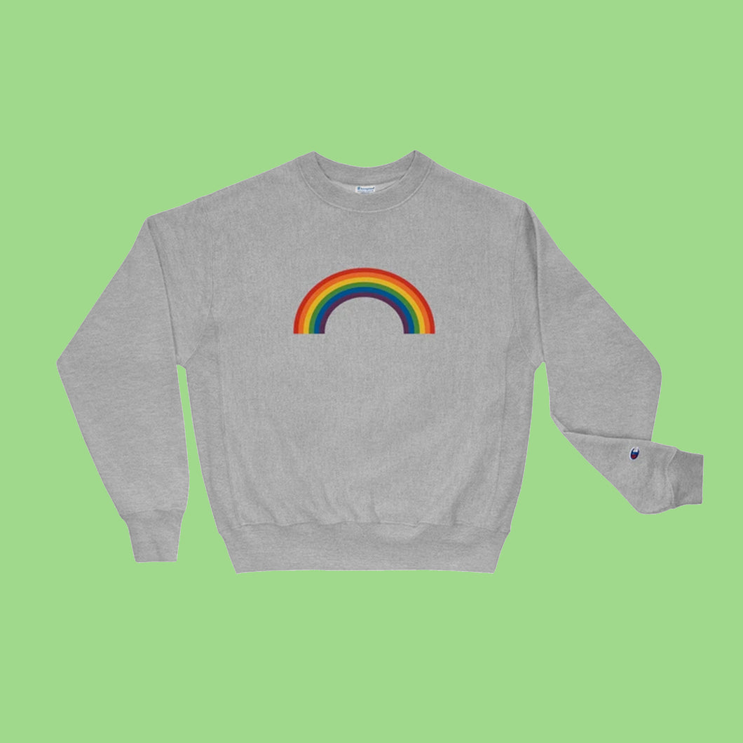 Rainbow Champion Sweatshirt