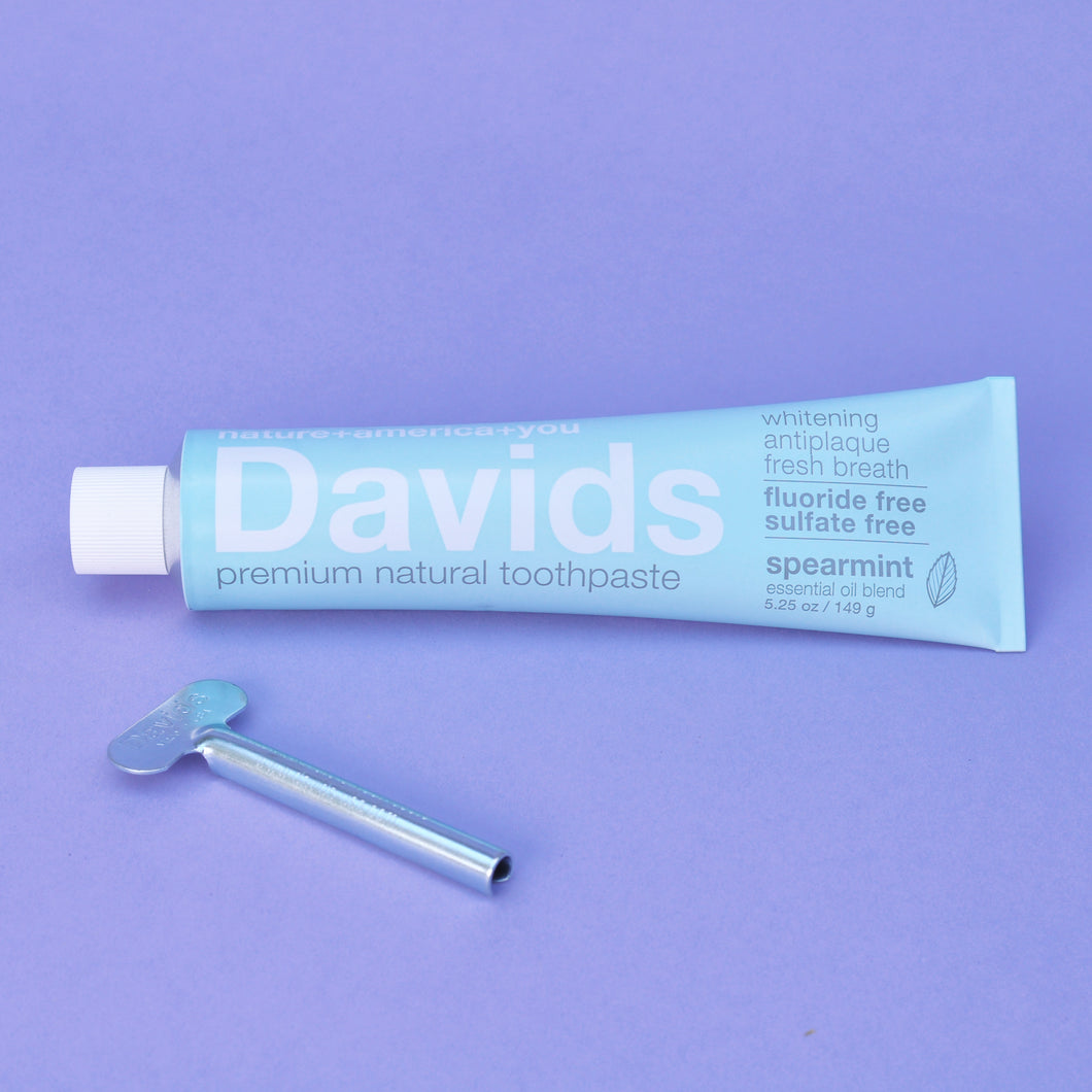 David's Natural Spearmint Toothpaste