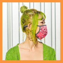 Load image into Gallery viewer, Upcycled Bandana Mask