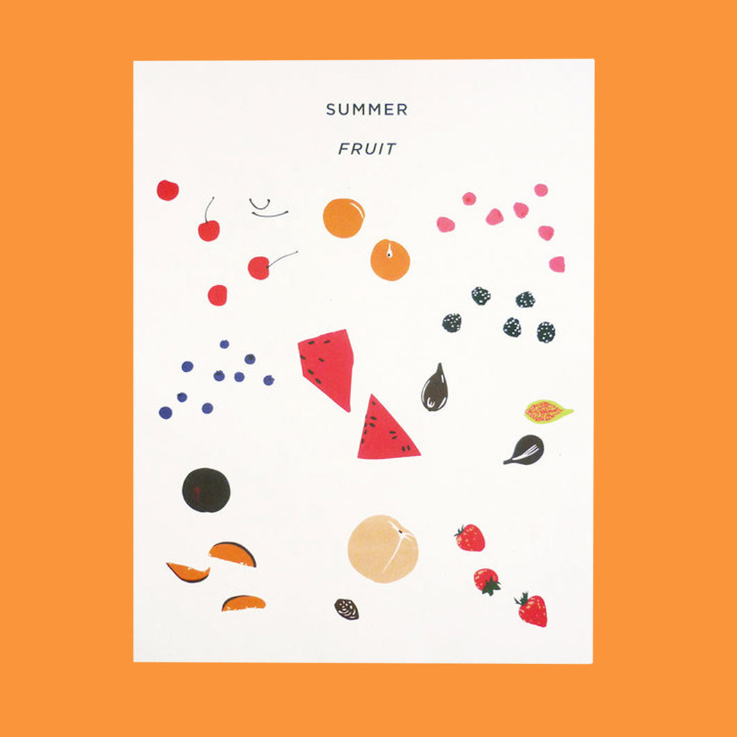 Summer Fruit Print