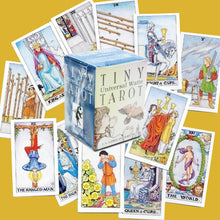 Load image into Gallery viewer, Tiny Universal Waite Tarot