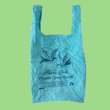 Blue Bird Thank You Tote