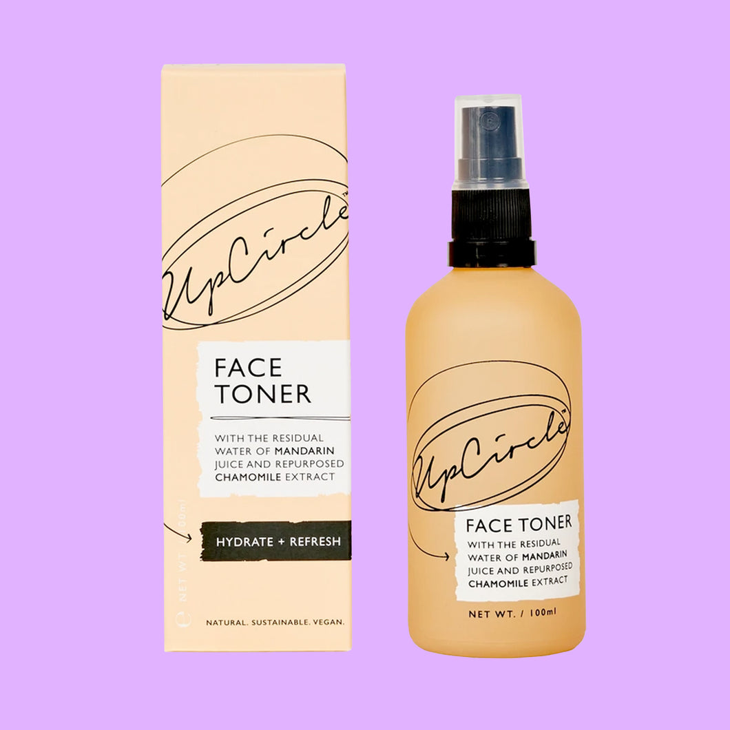 Face Toner with Mandarin and Chamomile Extract