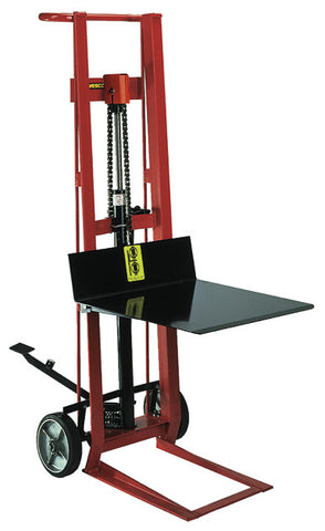 Two Wheeled Hydraulic Steel Pedalift