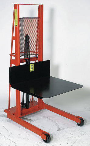 Economy Large Platform Hydraulic Stacker