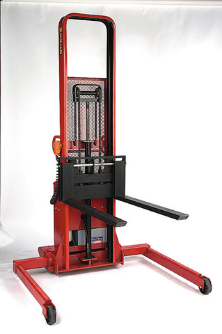 Powered Fork Stacker 110V AC Model