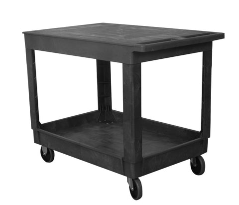 Flat Top Plastic Service Cart