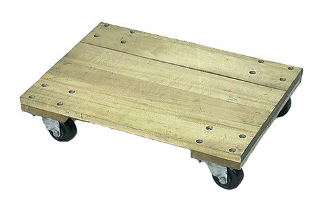 Solid wood dolly