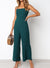 Adjustable Straps Wide Leg Jumpsuit