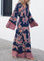Multi Print Tassel Maxi Dress