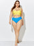 TORRENT WRAP UNDERWIRE HIGH WAIST BIKINI