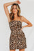 Wild Leopard Beauty Mini Dress
