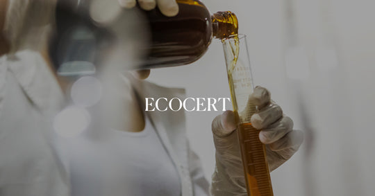 Produced in the Eco-Certified laboratory. ECOCERT is a globally recognized natural and organic cosmetic certification.